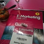 Post Thumbnail of Le temps d'un verre au salon E-marketing 2011