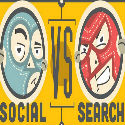 #Infographie du Mercredi : Search Marketing contre Social Marketing