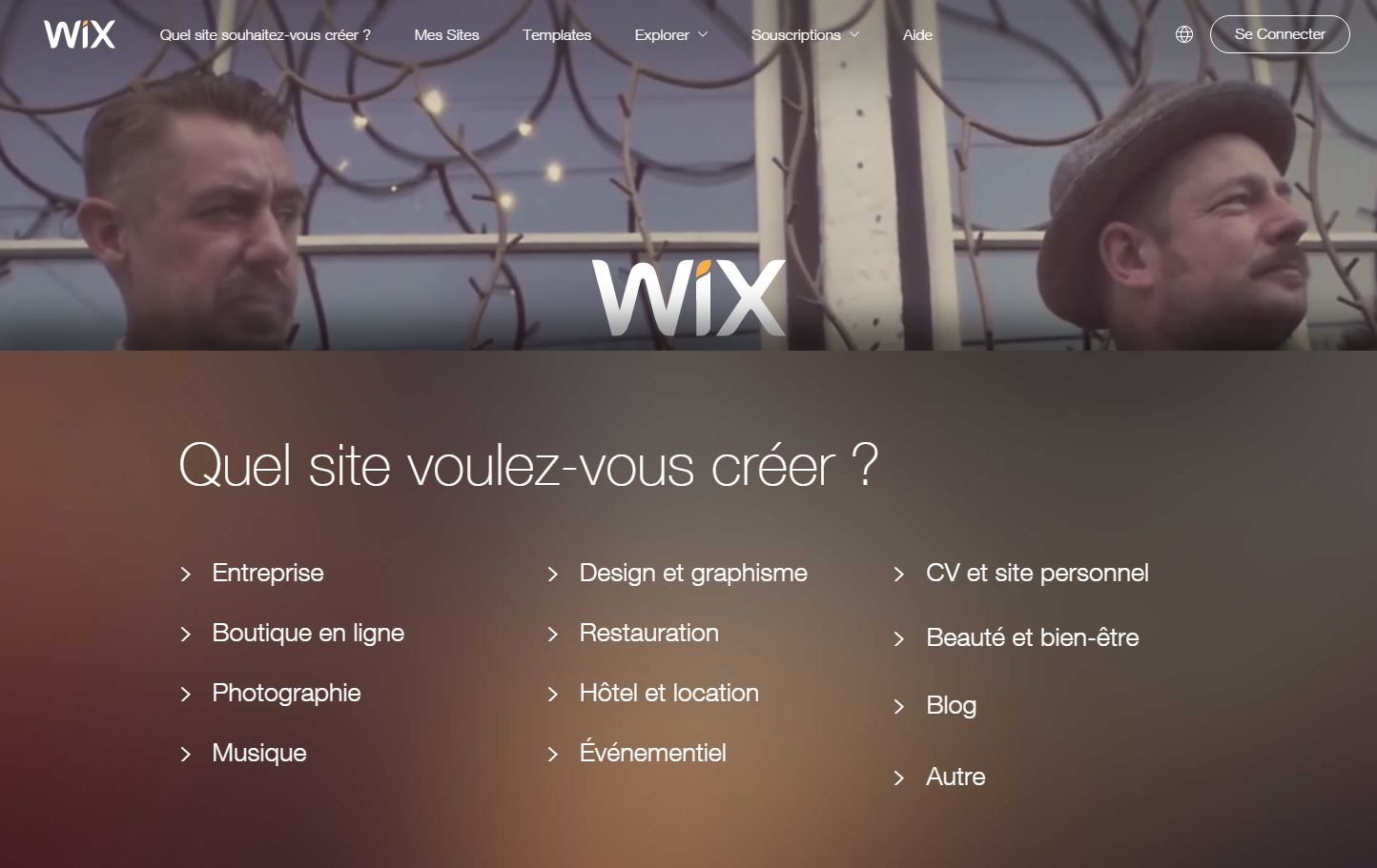 wix scroll automatique
