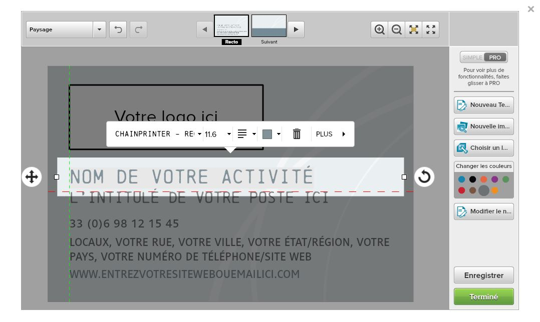 Configurateur HelloPrint