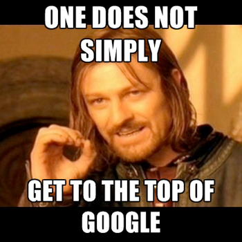 Top-of-Google SEO