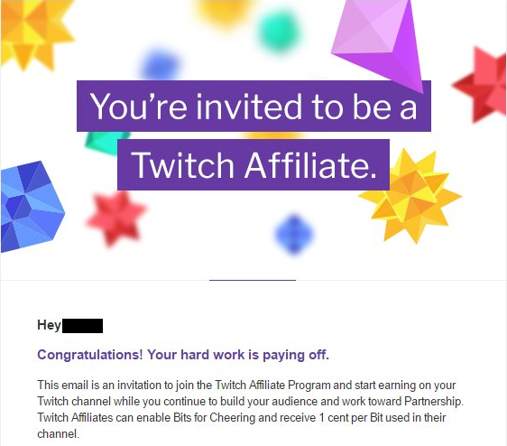 Twitch affiliate program Amazon