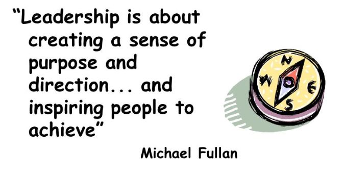 Leadership sense of purpose quote