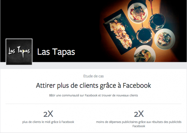 Case Study Facebook Drive to Store - Les Tapas Lille