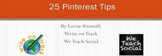 #Slideshare du Vendredi : 25 conseils pour améliorer votre marketing sur Pinterest