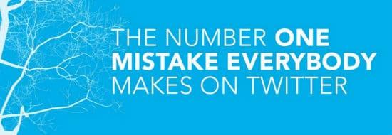 #Slideshare du Vendredi : La plus grosse faute qu'on peut faire sur Tweeter