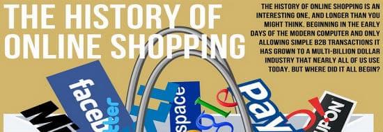 #Infographie du Mercredi : Histoire et Evolution du e-commerce