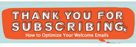 #Infographie du mercredi : Optimiser vos mails de bienvenue