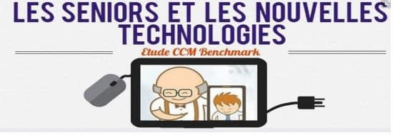 #Infographie du Mercredi : Les Seniors et les nouvelles technologies
