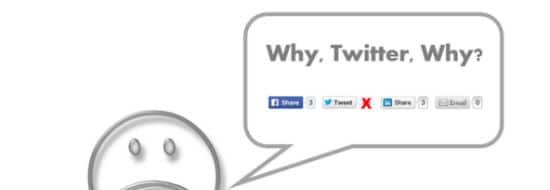 Comment vous et moi avons perdu 80% de partages sur nos compteurs (indice: merci Twitter !)