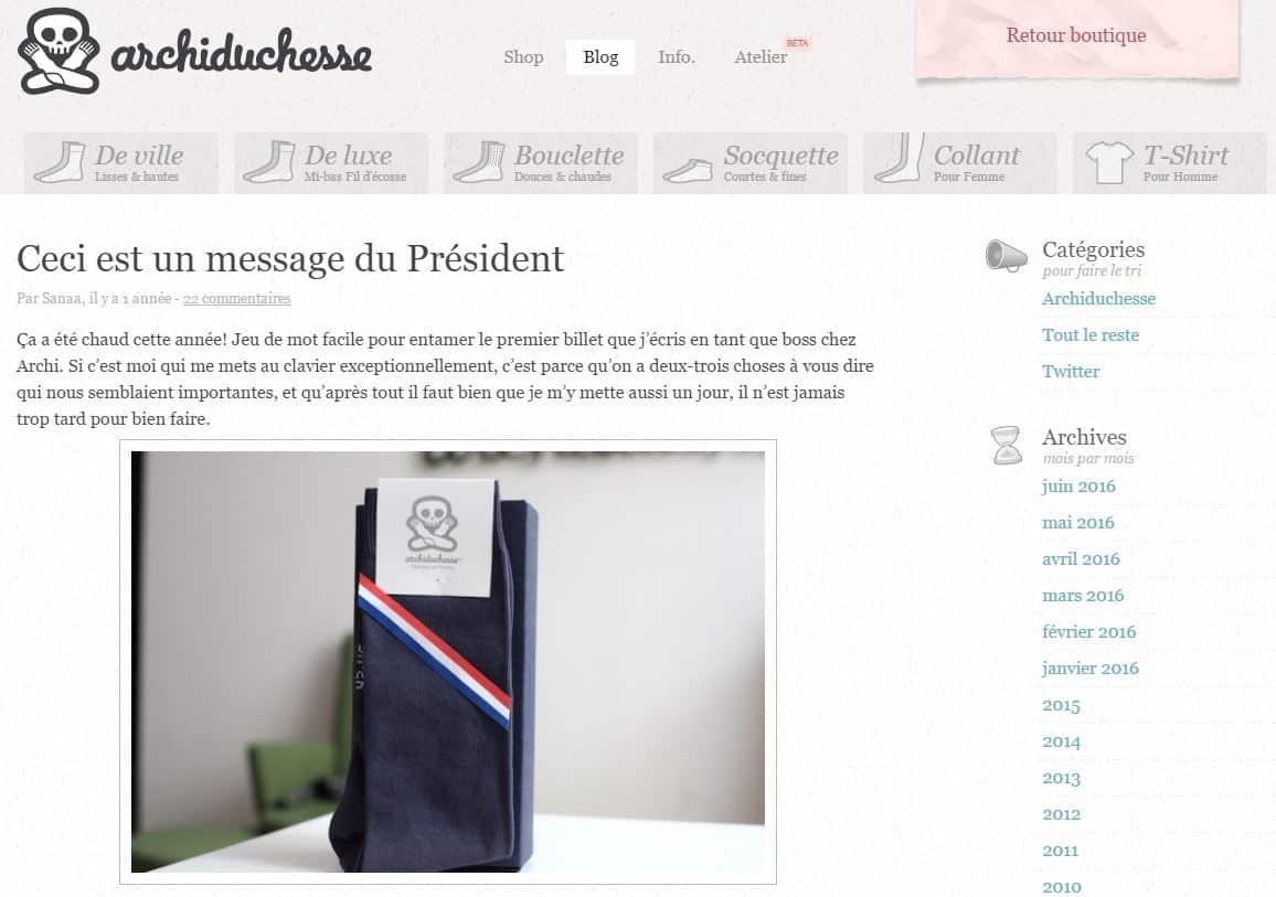 ArchiMessagePresident