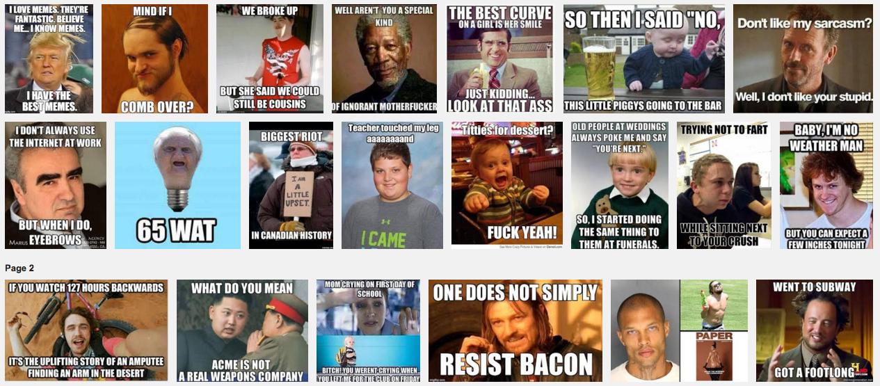 Meme-Illustration