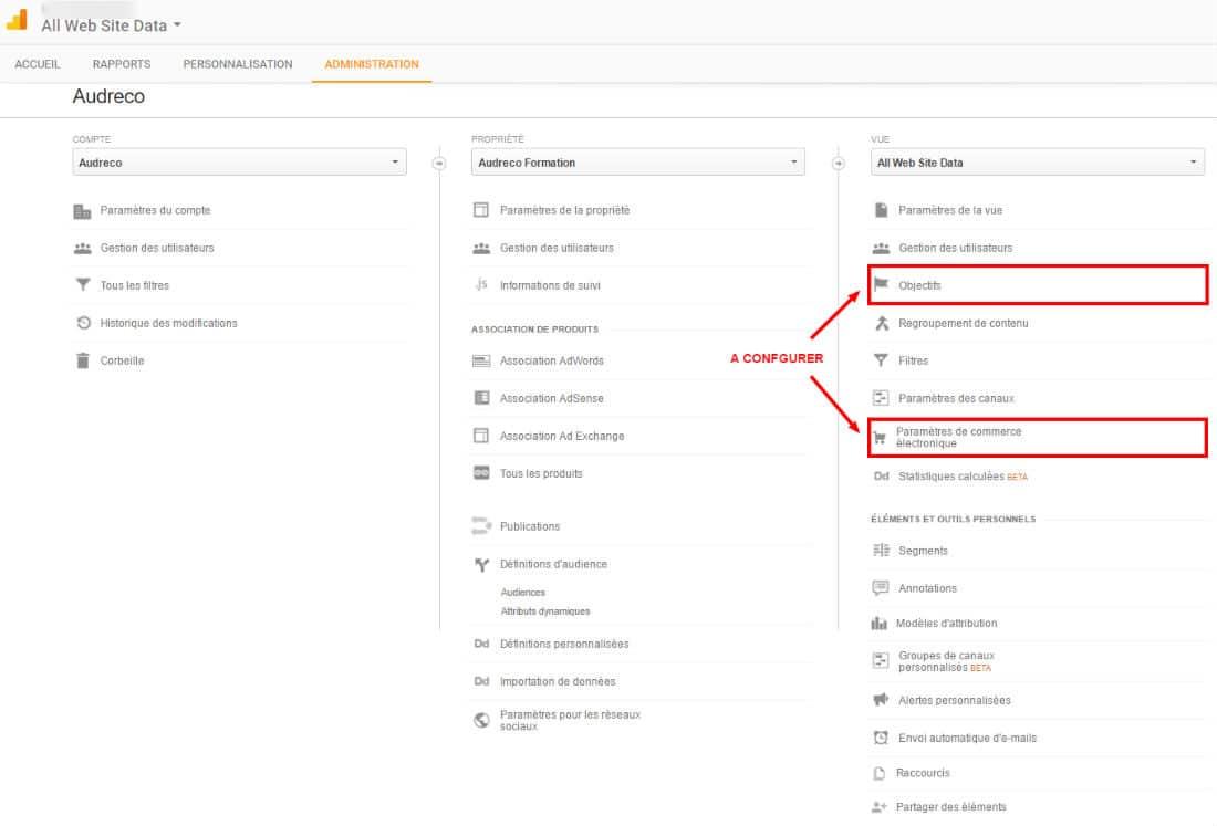 GoogleAnalytics Goals