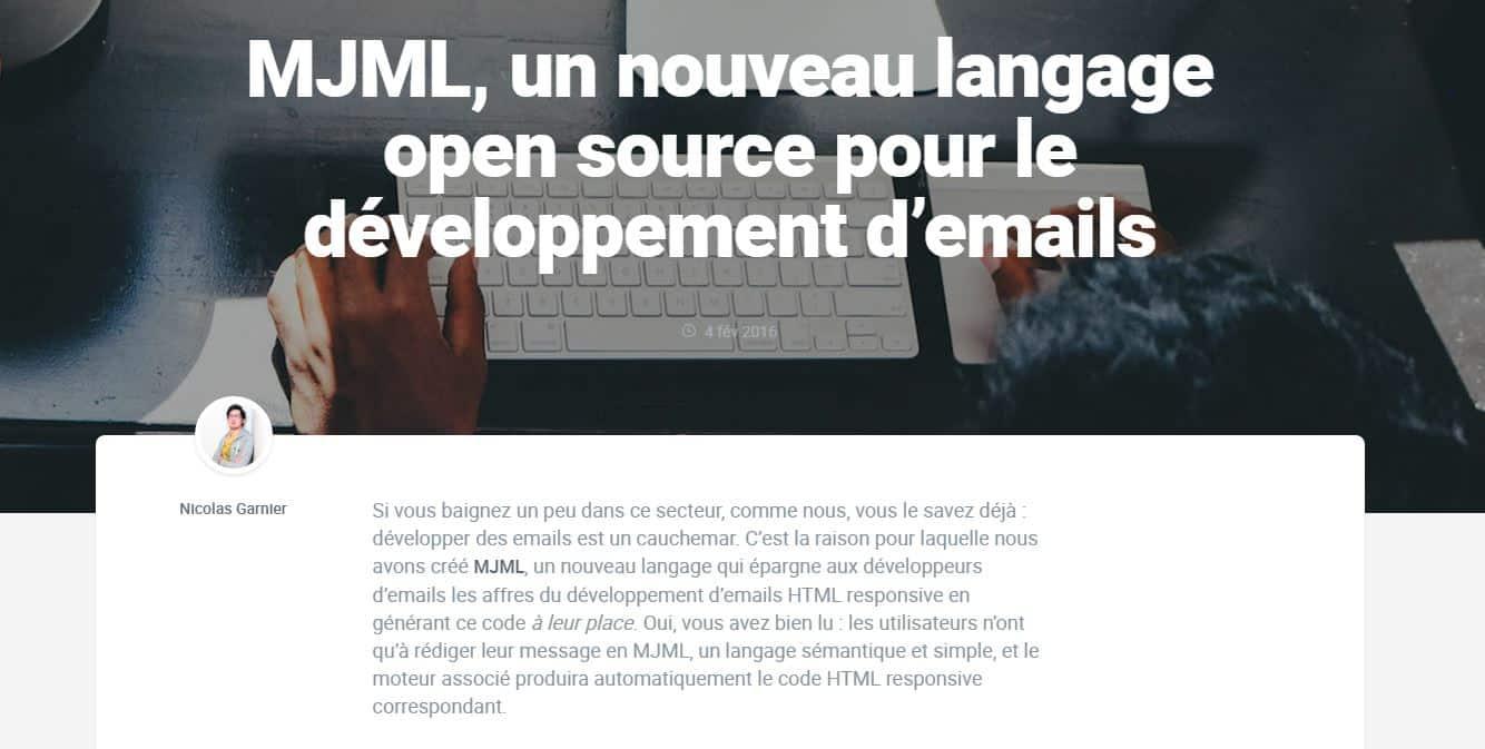MJML Mailjet