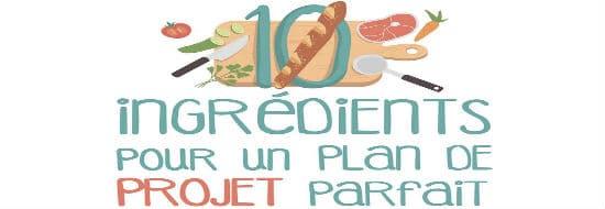 #Infographie du Mercredi : 10 éléments essentiels pour un plan de projet parfait