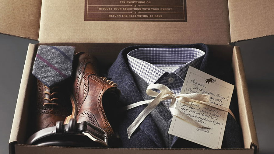 trunk club carte manuscrite