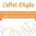 #Infographie du Mercredi : Le management agile appliqué aux équipes marketing