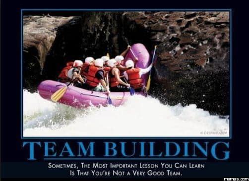 Team building meme