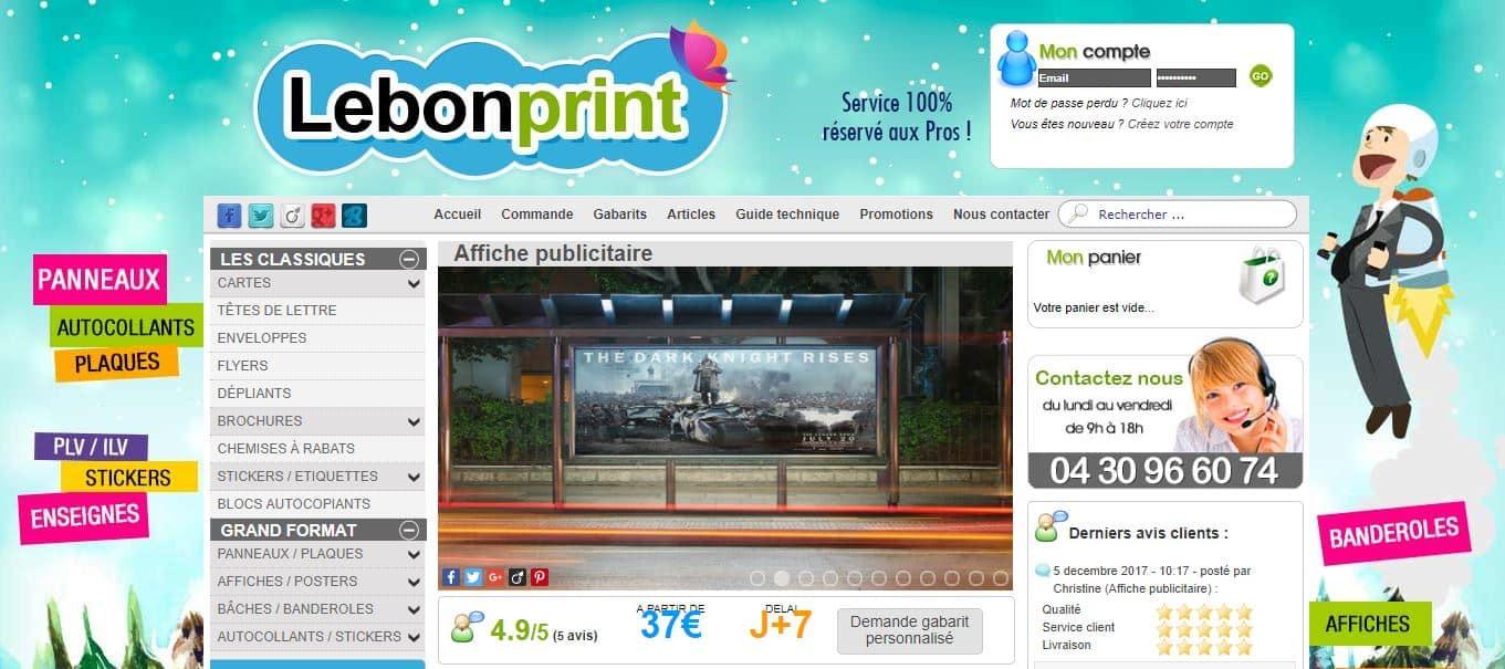 lebonprint affiches