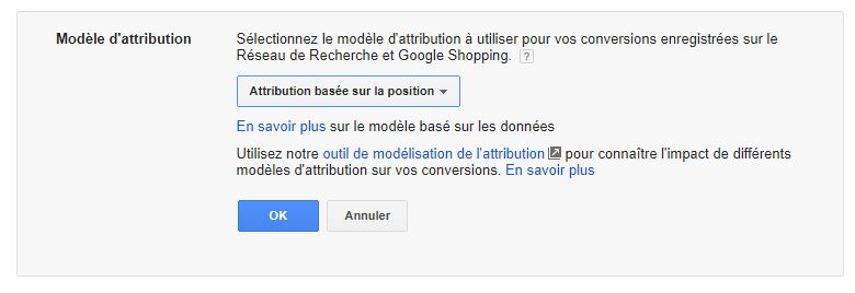 Attribution Adwords