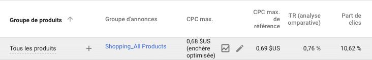 Shopping PLA benchmark