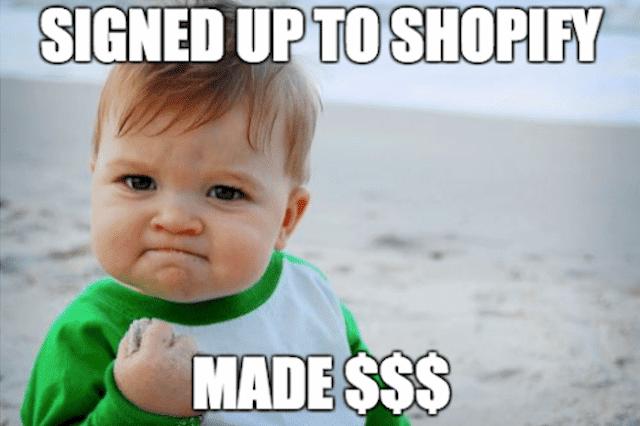 Shopify meme