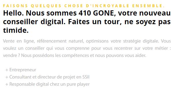Agence410Gone