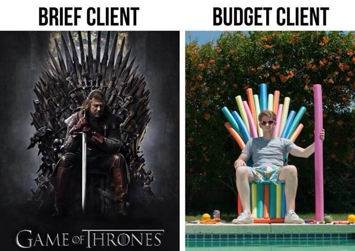 brief vs realite