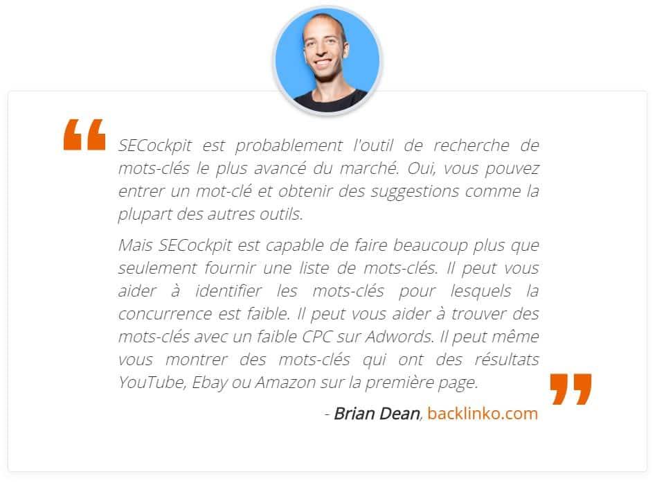 Brian Dean SEOcockpit