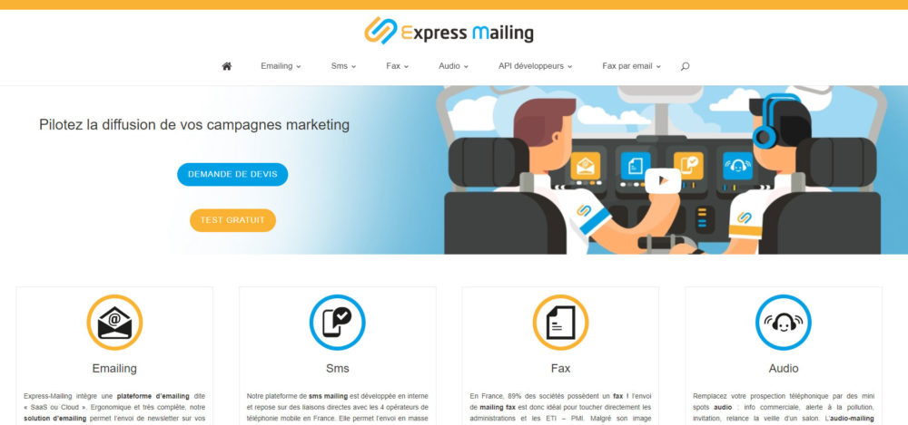 Express mailing