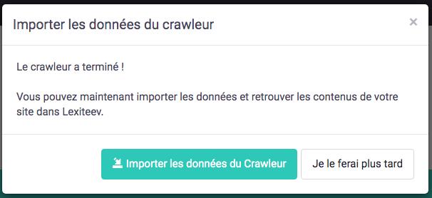 Crawler Lexiteev succes