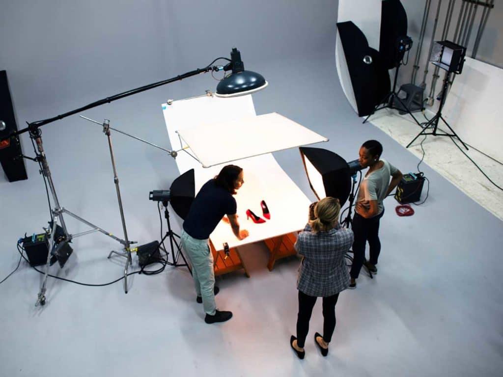 Studio photo de produits e-commerce