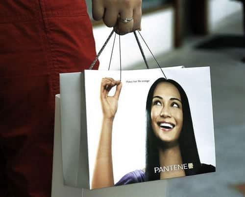 sac promotionnel pantene
