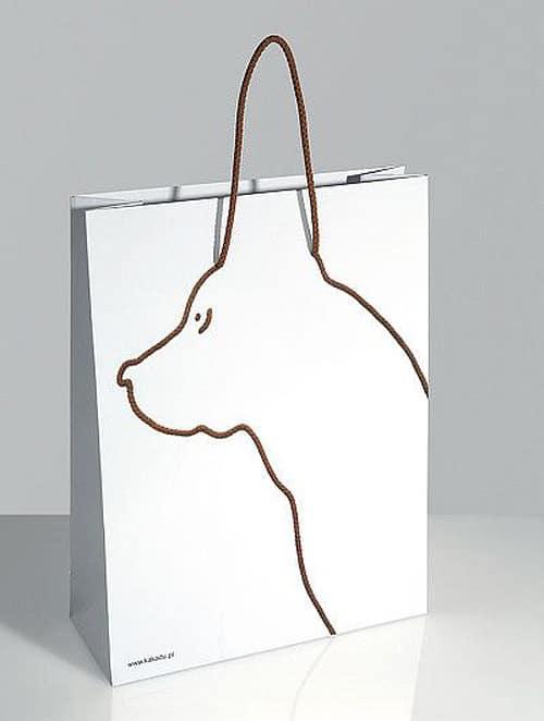 sac personnalisé chien