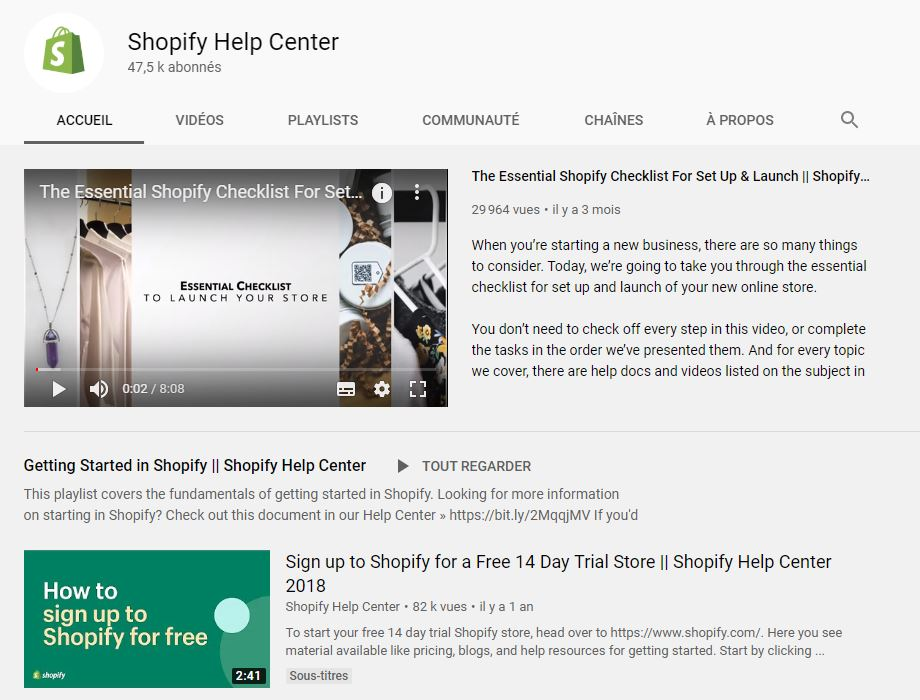 Shopify Help Center YouTube