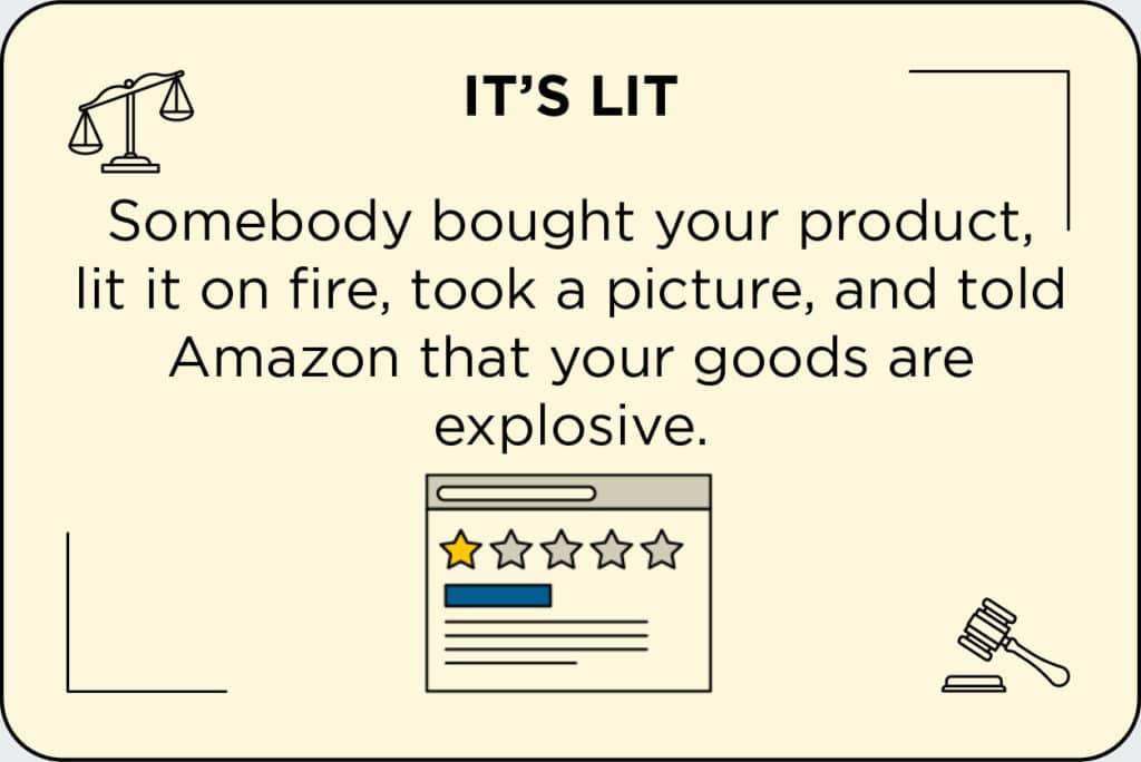 Avis de mauvais clients e-commerce
