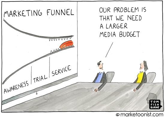 Cartoon publicite