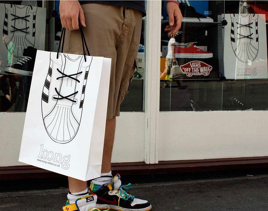 sac promotionnel chaussures kong