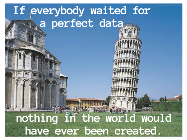 """Le """"tout"""" data driven n'est pas parfait"""