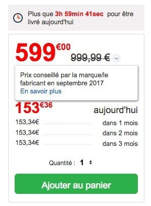 Exemple de prix e-commerce