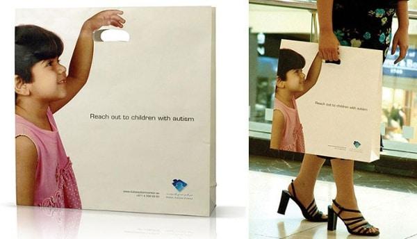 sac promotionnel dubai autism center