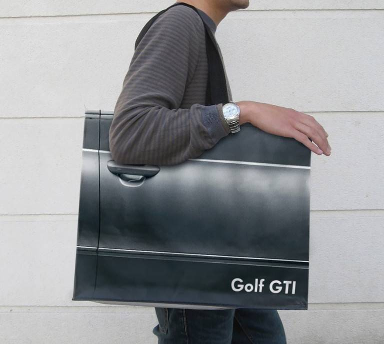 sac publicitaires golf GTI