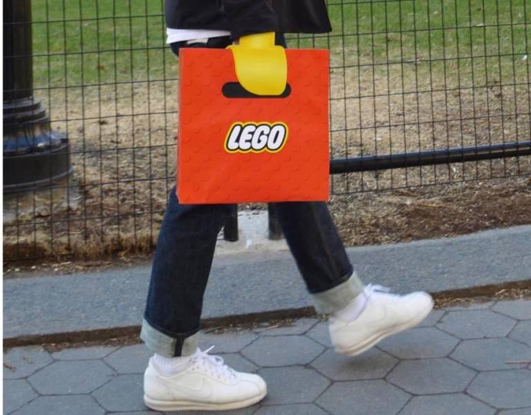 sac publicitaires lego