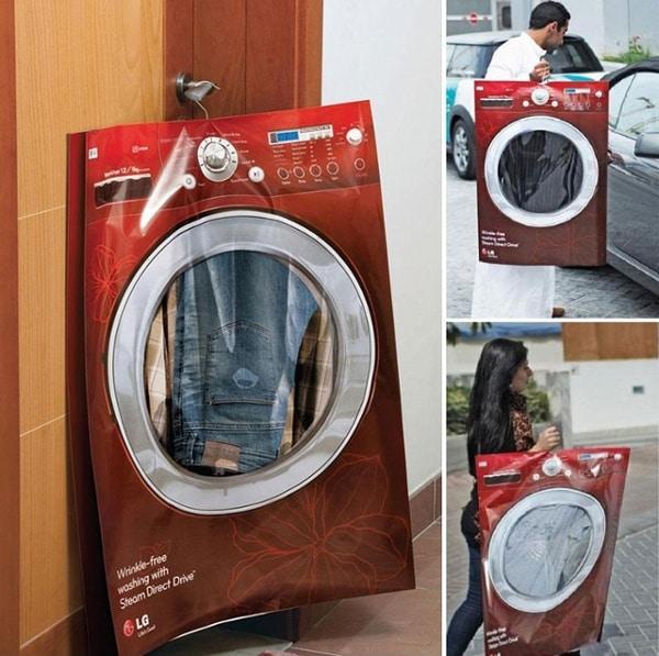 sac personnalisé machine à laver