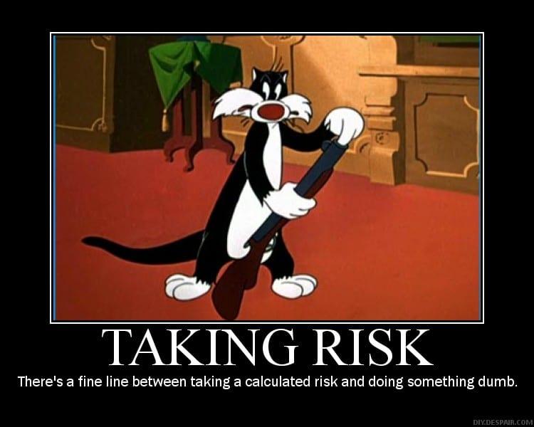 prendre des risques meme