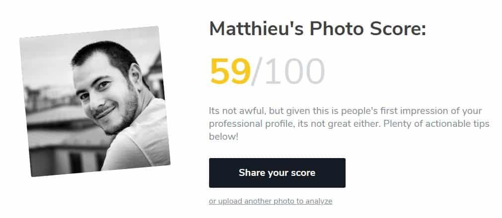 Snapp profil Linkedin Photo