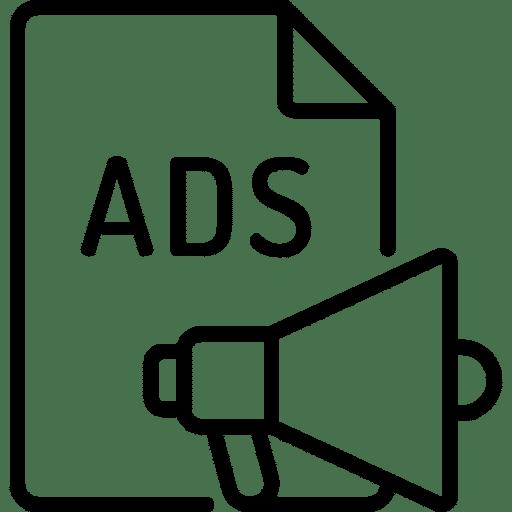Publicité icone