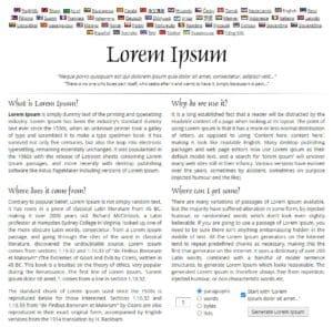 générateur lorem ipsum