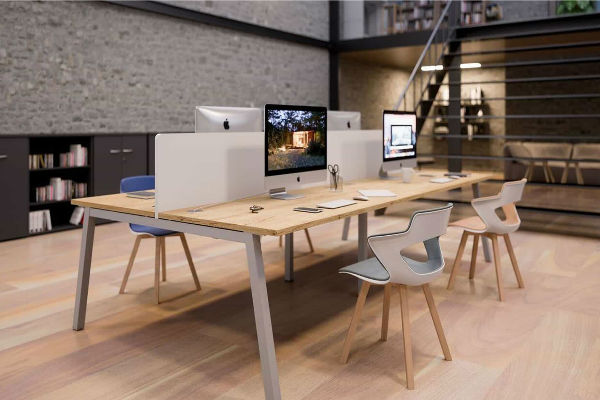 Open space en coworking