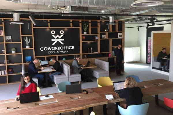 Espace de coworking pour les Millenials